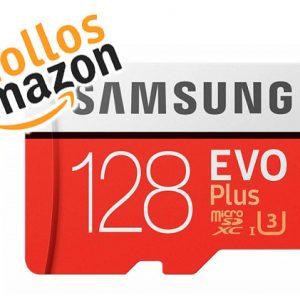 💥 Chollo Black Friday 2018 MicroSD Samsung Evo Plus 128GB