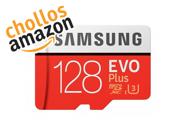 💥 Chollo Black Friday 2018 MicroSD Samsung Evo Plus 128GB