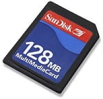 Tarjeta MMC Sandisk