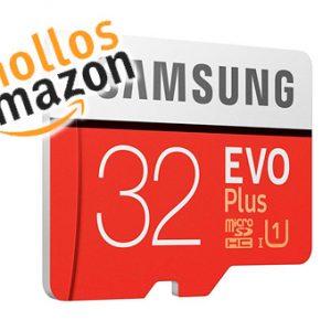 💲 Chollo del día: MicroSD Samsung Evo 32GB Clase 10 UHS-I