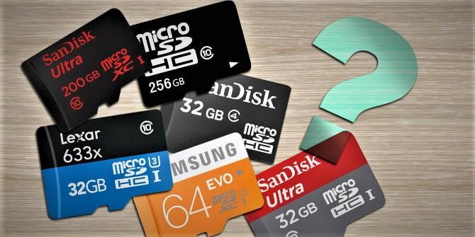 ¿Cómo elegir una tarjeta MicroSD?