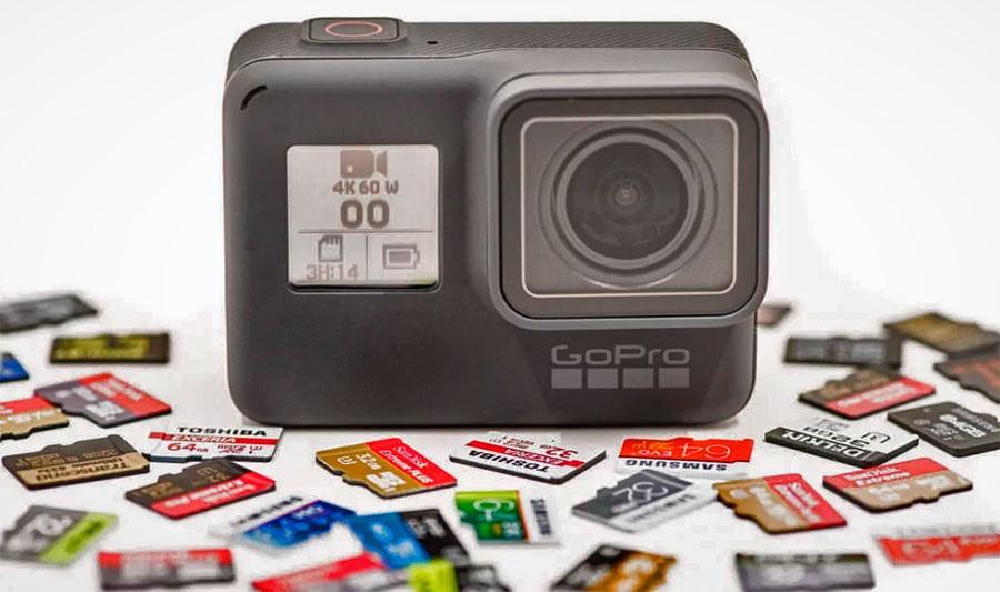 💾 Tarjetas MicroSD para GoPro y cámaras de acción 🎬
