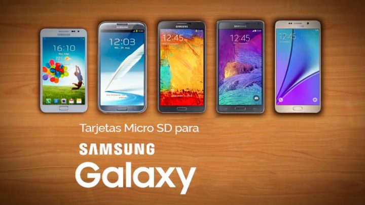 🥇 Estas son las mejores Tarjetas Micro SD para Smartphone Samsung Galaxy