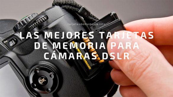 Camaras-DSLR-tarjetas-sd-reflex