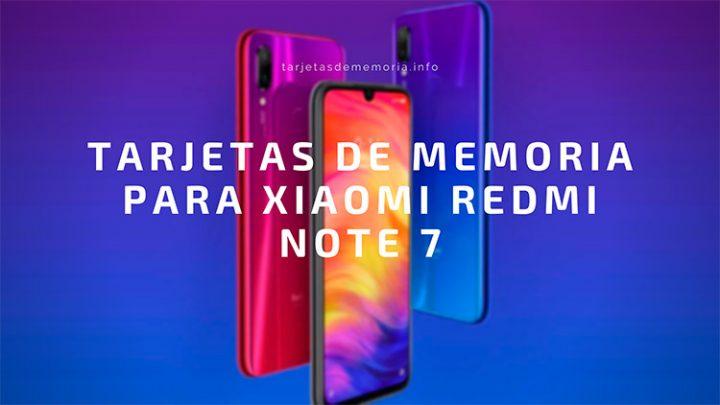 ¿Cuáles son las mejores tarjetas Micro SD para Xiaomi Redmi Note 7? 🤞📱