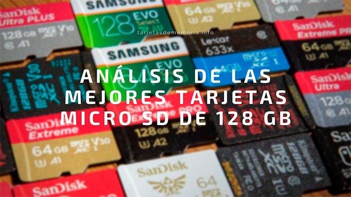 Las MEJORES tarjetas Micro SD de 【 128 GB】