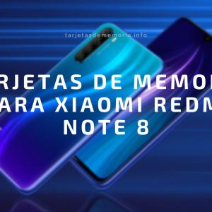 Tarjetas microSD para tu Xiaomi Redmi Note 8 👌