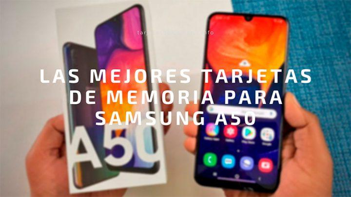 ☝🏼 Las MEJORES 🥇 tarjetas microSD para Samsung Galaxy A50