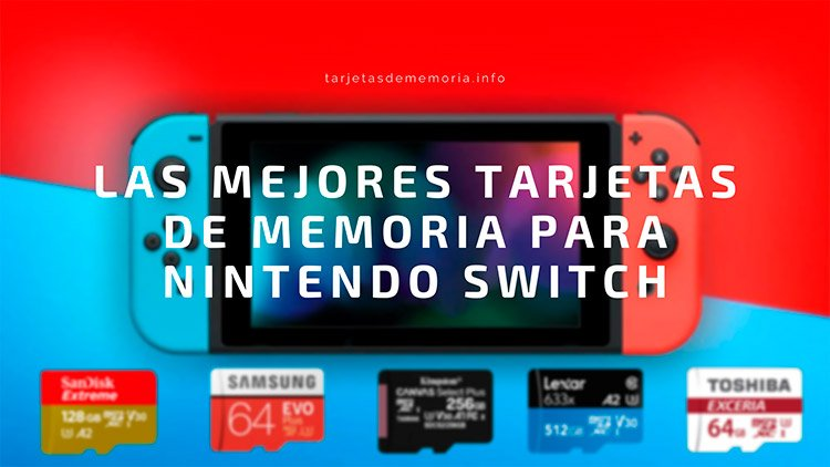 🥇 Las mejores tarjetas micro SD para Nintendo Switch y Switch Lite