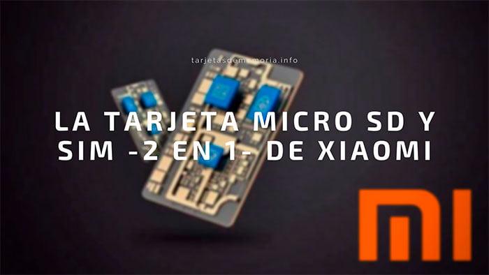 SuperSIM: Xiaomi patenta una tarjeta micro SD y SIM a la vez