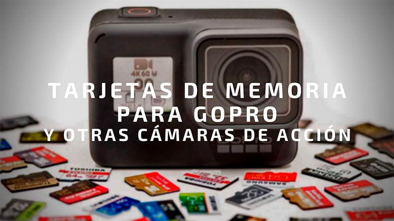 💾 Tarjetas micro SD para GoPro y otras cámaras de acción 🎬
