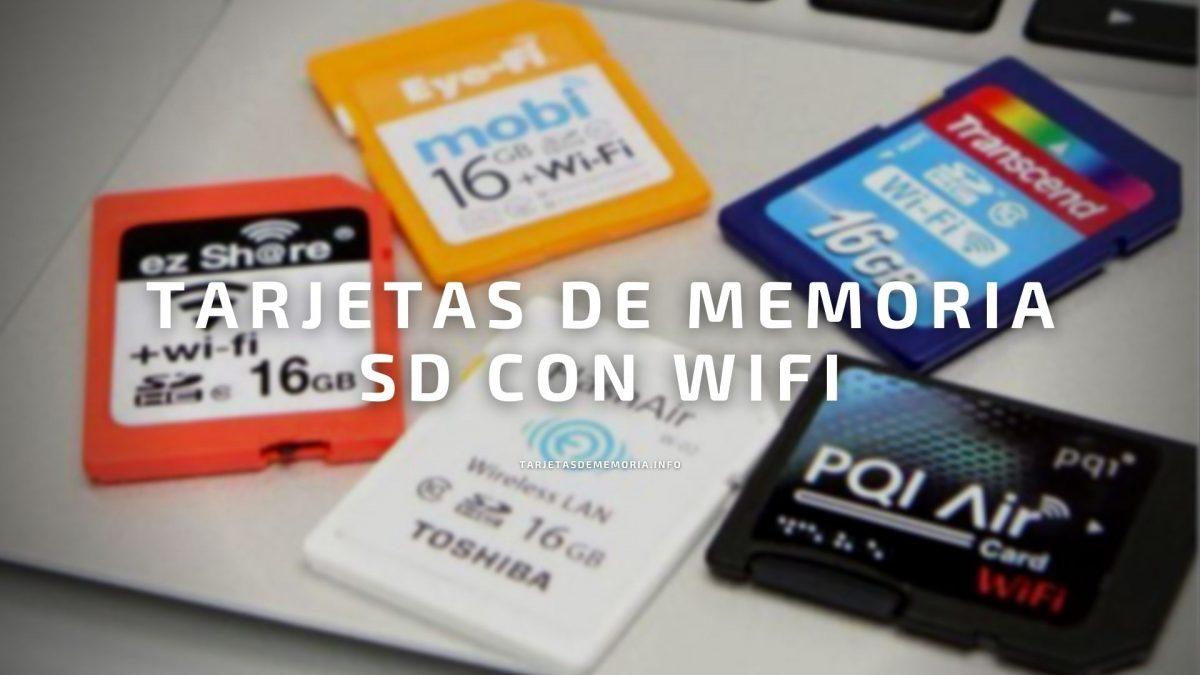 Las mejores tarjetas SD con WiFi