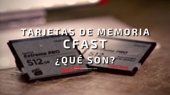 Tarjetas de memoria CFAST